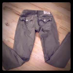 True religion olive jeans